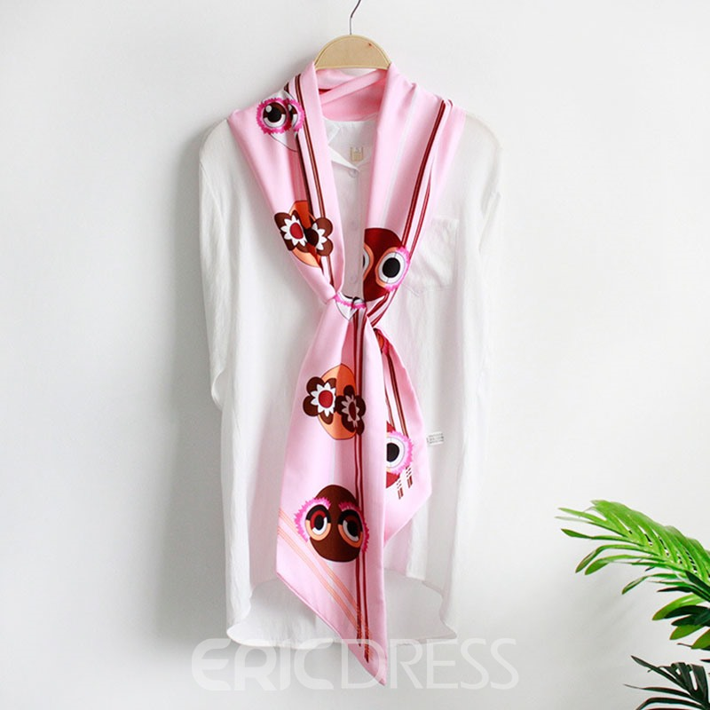 Ericdress Graceful Double Layer Chiffon Decoration Scarf