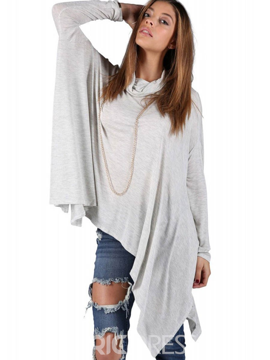 5de187e1df4 Ericdress Loose Plain Batwing Sleeve Cape 12973891 - Ericdress.com