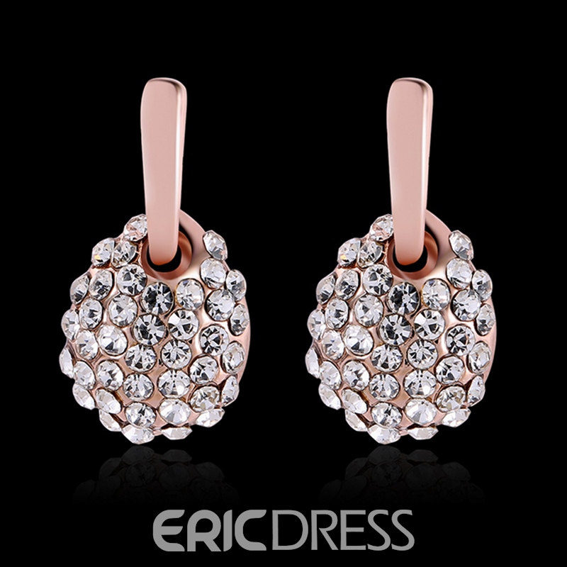 Ericdress Shining Diamante Women's Earring