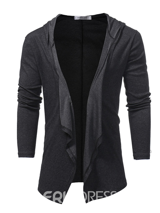 Ericdress Plain Cardigan Vogue Unique Men's Outwear