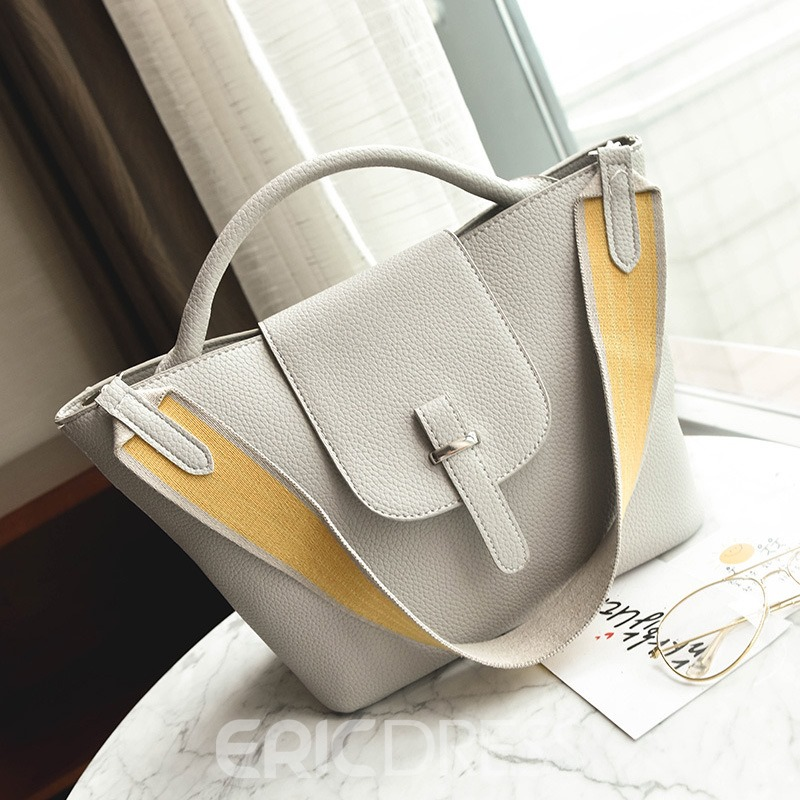 Ericdress Occident Style Embossing Women Handbag