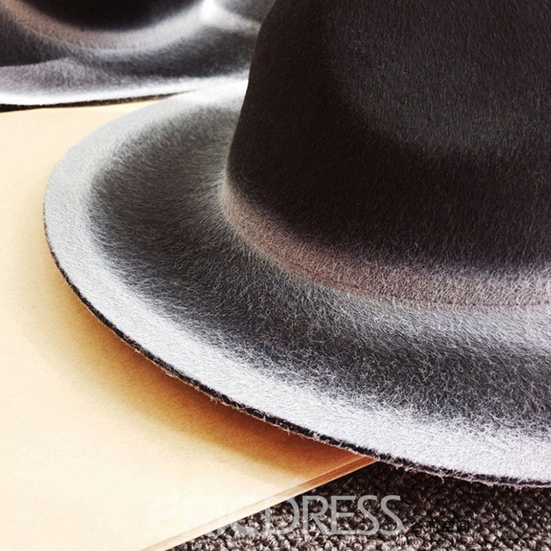 Ericdress British Style Cool Black Hat
