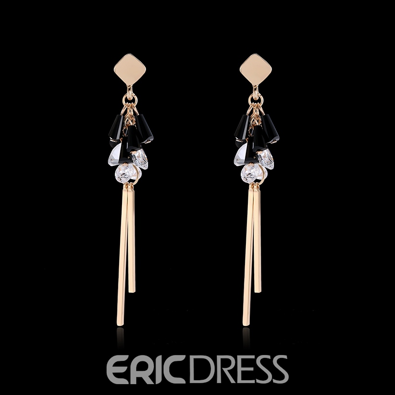 Ericdress Alloy Diamante OL Style Earring