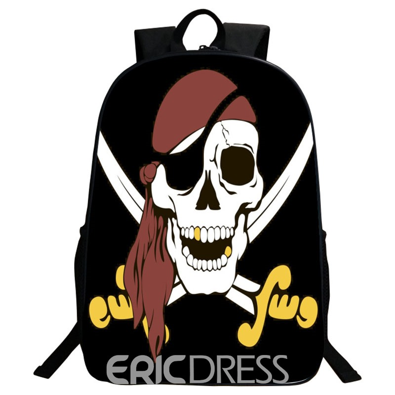 Ericdress Korean Style Skull Printing Men's Backpack
