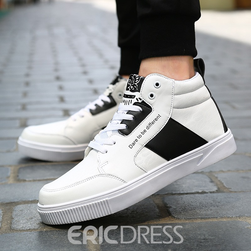 Ericdress All Match Fashion Color Block Men's Skater Shoes