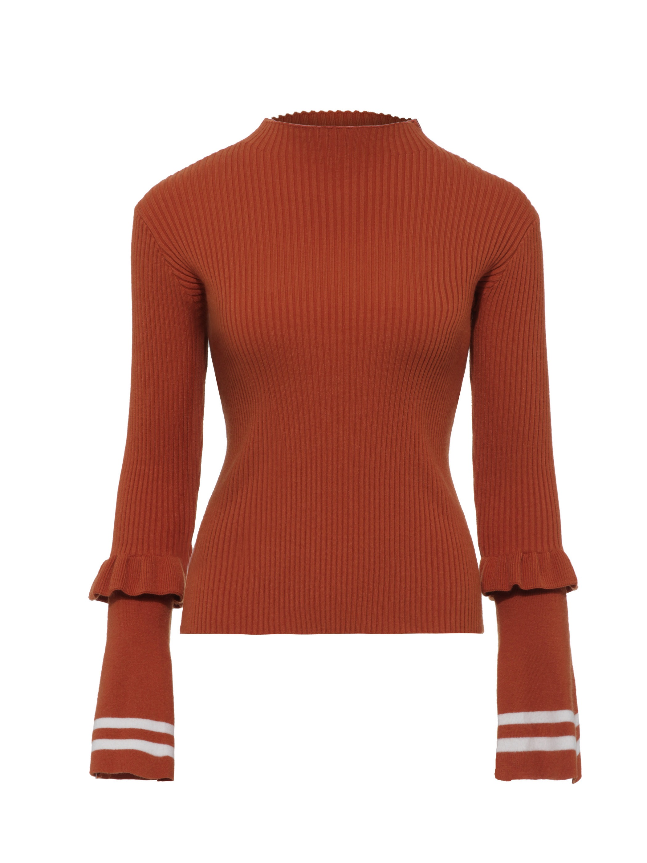 Ericdress Slim Flare Sleeve Pullover Knitwear