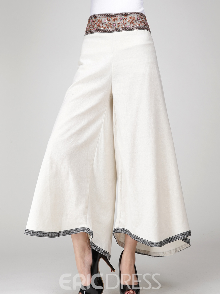 Ericdress Loose Ankle Length Women's Pants