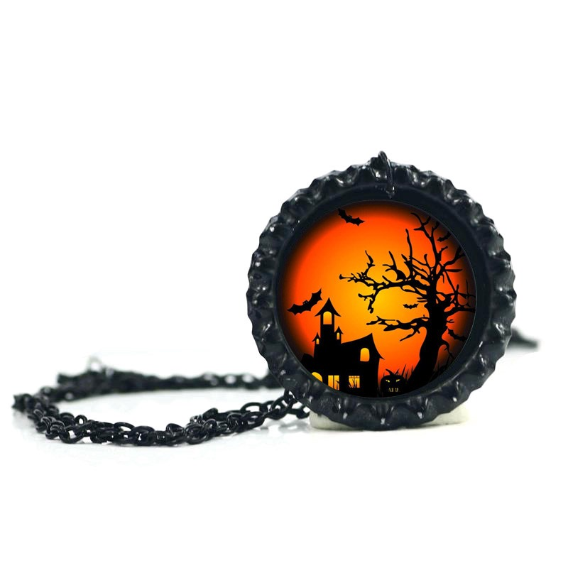 Ericdress Creative DIY Halloween Accessories Pendant Necklace for Women