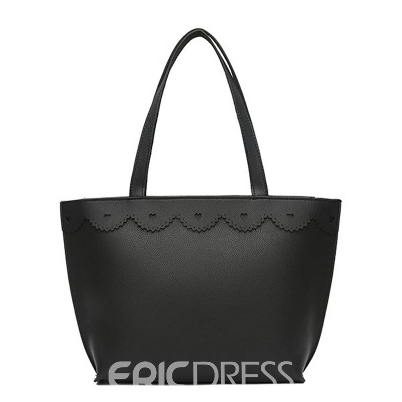 Ericdress Simple Lace Trimmings Shoulder Bag