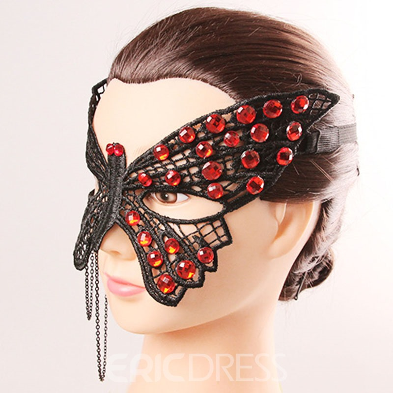 Ericdress Butterfly Fancy Ball Halloween Lace Mask