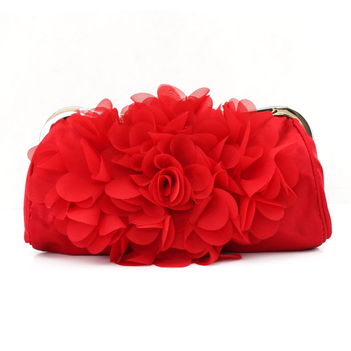 Ericdress Silk Floral Design Evening Clutch