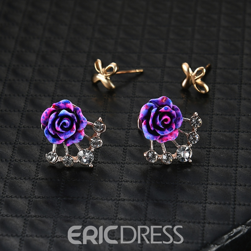 Ericdress All Match Rose Alloy Jewelry Set for Women