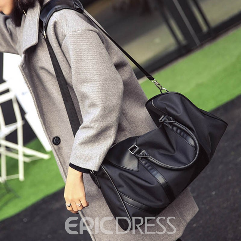Ericdress Large Capacity Men's Canvas Bag
