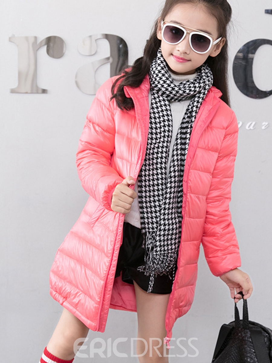 Ericdress Casual Thick Zipper Boys & Girls Down Coat