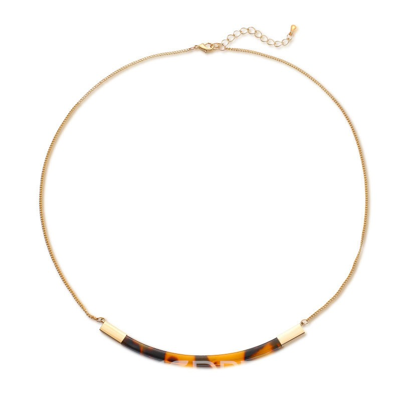 Ericdress Hot Acrylic Concise Necklace for Office Lady