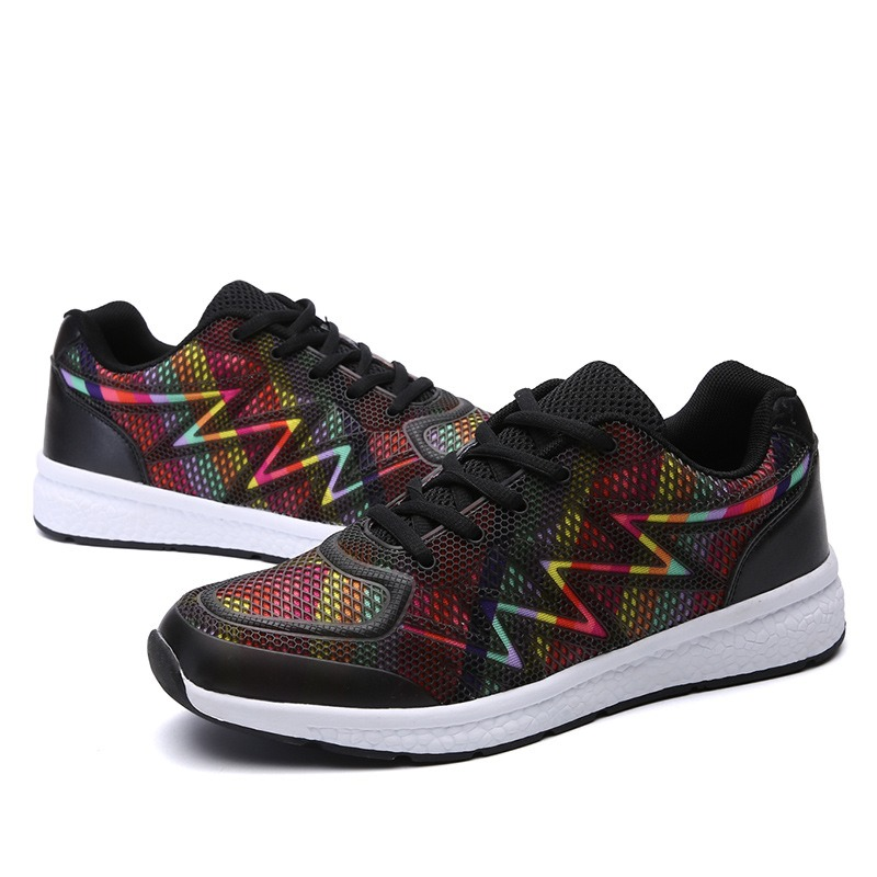 Ericdress Mesh Low-Cut Color Block Men's Sneakers