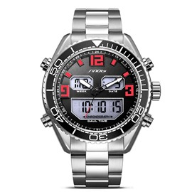 ericdress stilvolle kalender digitalanzeige men's watch