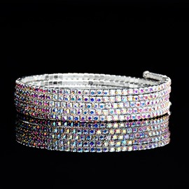 Ericdress Colorful Multilayer Fashion Bracelet for Women