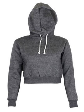 Ericdress Short Plain Pullover Cool Hoodie