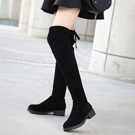 Ericdress All Match Plain Knee High Boots