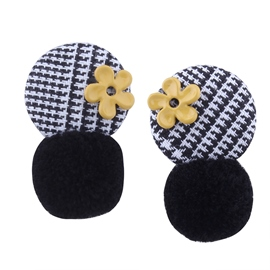 Ericdress Stylish Flower Button Earring for Women
