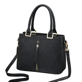 Ericdress Well-Match Solid Color Women Handbag