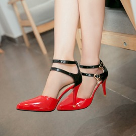 Ericdress Hasp Color Block Stiletto Heel Pumps