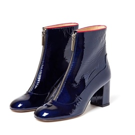 Ericdress New Style Front Zipper Plain Women's Boots