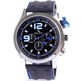 Ericdress 9-12 Number Men's Sport Watch