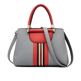 Ericdress Classic Patchwork Zipper Handbag