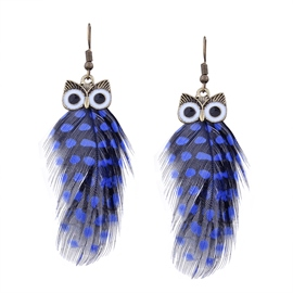 EricdressOwl Pendant Women's Drop Earring