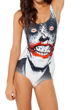 Ericdress Halloween Scary Bloody Devil Monokini