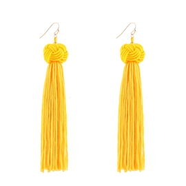 Ericdress Fashion Beads Tassel Women's Earring
