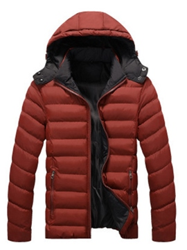 Ericdress Outwear Hooded Cotton Men's Winter Coat