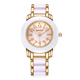 Ericdress Fancy Waterproof Quartz Movement Office Lady's Watch