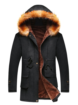 Ericdress Winter Warmth Thicken Casual Men's Winter Coat
