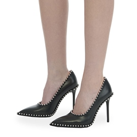 Ericdress New Style Purfle Slip-On Stiletto Heel Pumps