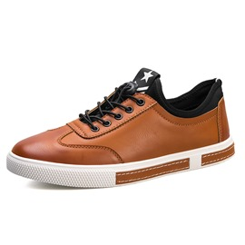 Ericdress Fashion Plain Low-Cut Men's Skater Shoes