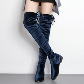 Ericdress Fashion Suede Plain Knee High Boots