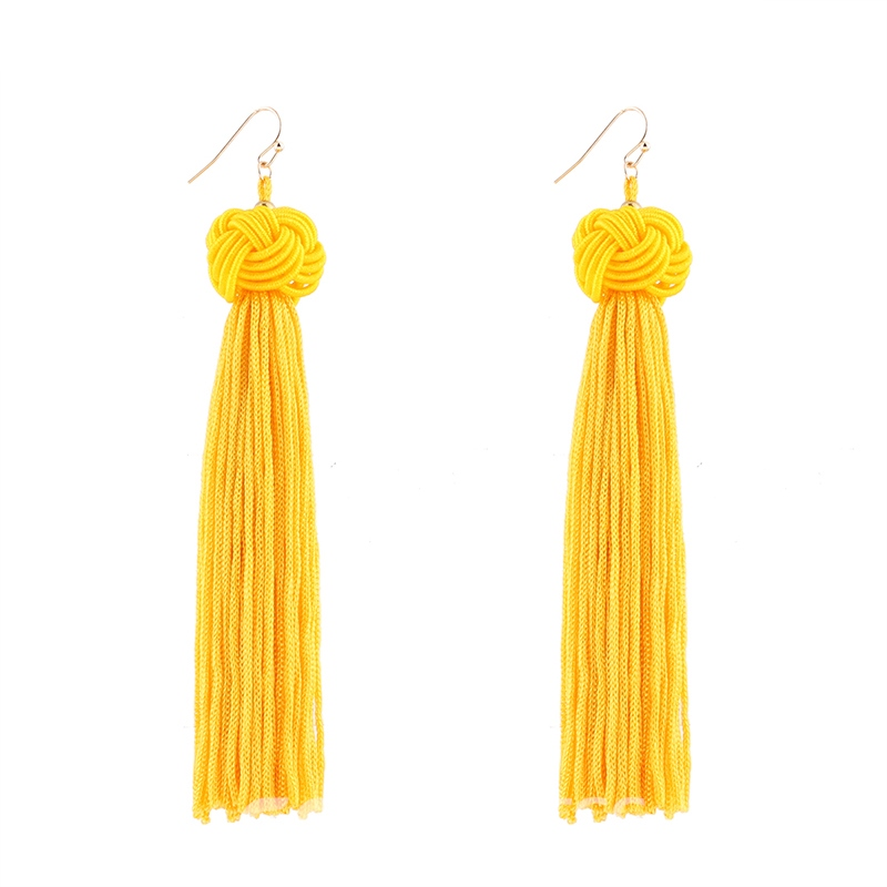 Ericdress Fashion Beads Tassel Womens Earring
