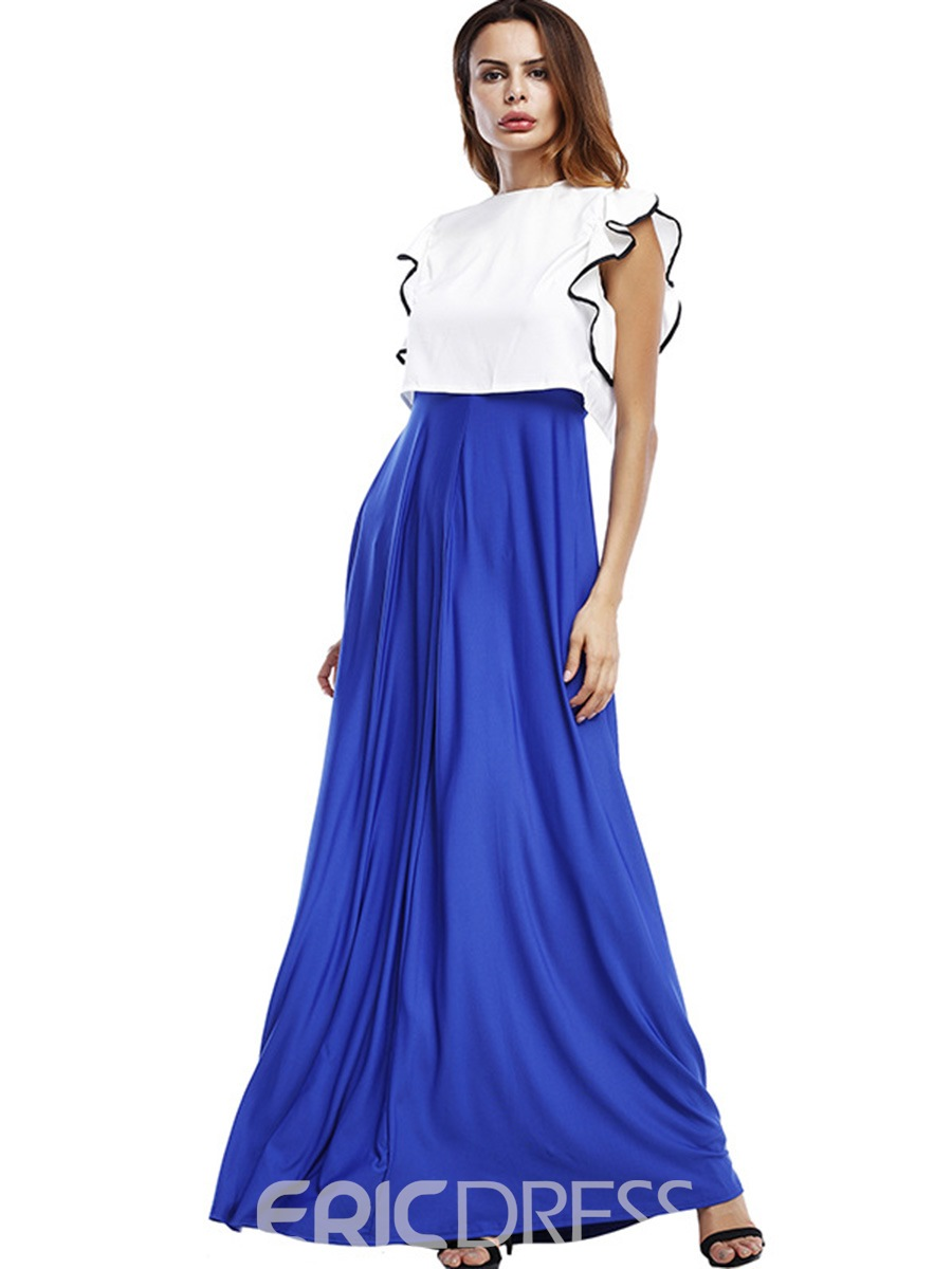 Ericdress Sleeveless Ruffles Ankle-Length Suits