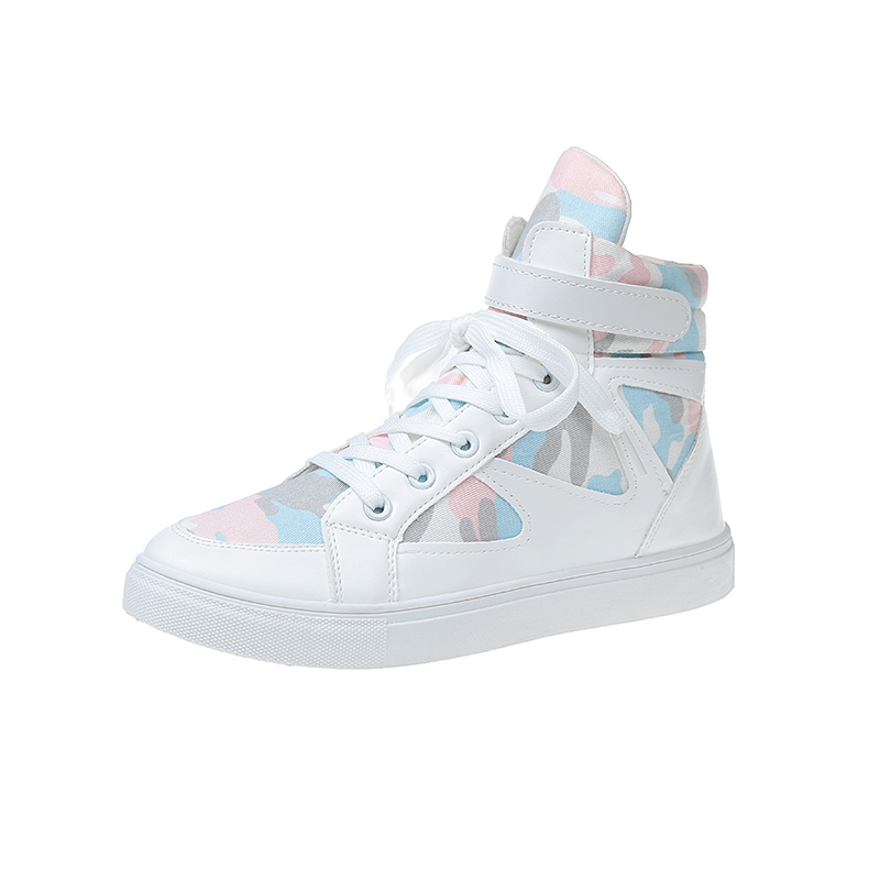 Ericdress Cross Strap Color Block Velcro Women's Sneakers