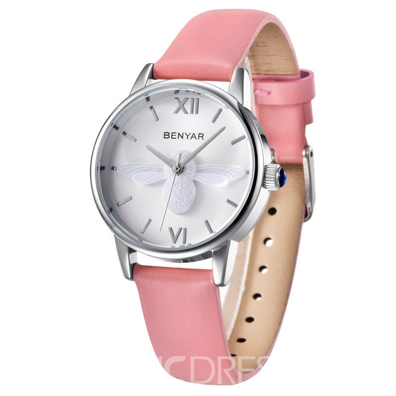 Ericdress All Match 30M Waterproof Pin Buckle Women's Watch