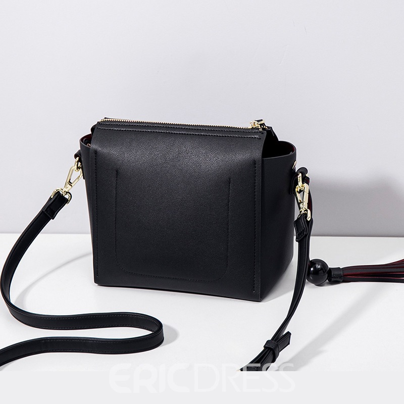 Ericdress Korean Style Tassel Decoration Crossbody Bag