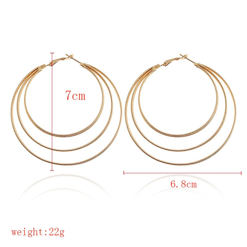 Ericdress Stylish Concise Circle Hoop for Women