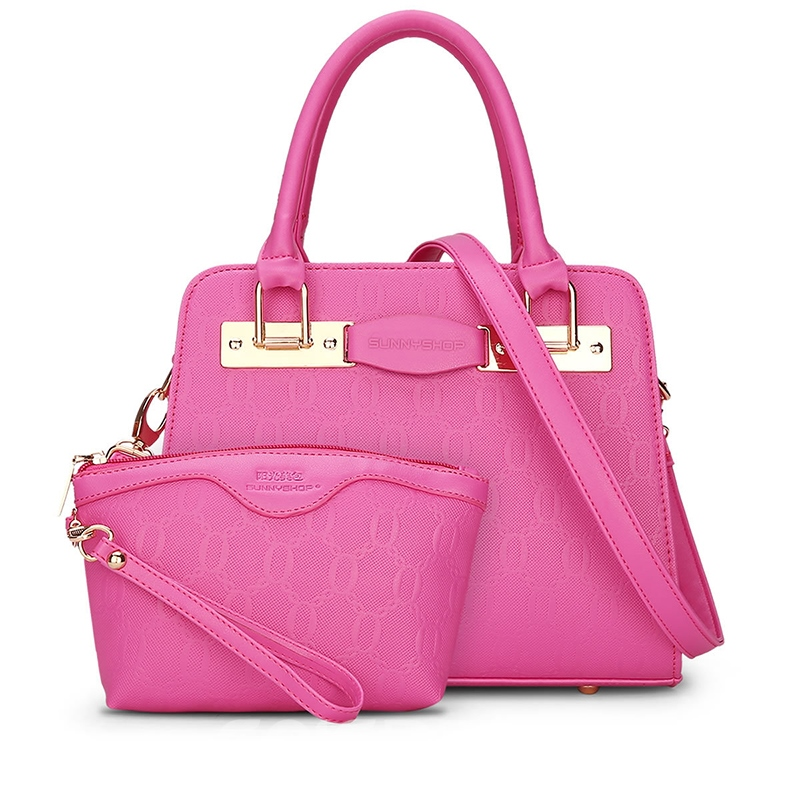 Ericdress Korean Style Embossing Zipper Handbag