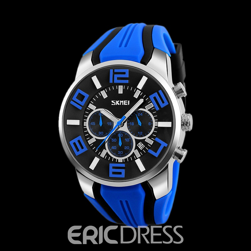 Ericdress Hardlex Rhinestone Case Men's Watch