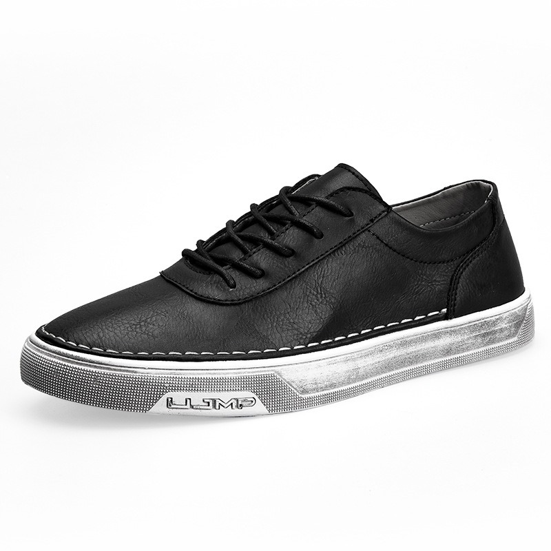 Ericdress Fashion Plain Lace-Up Men's Skater Shoes
