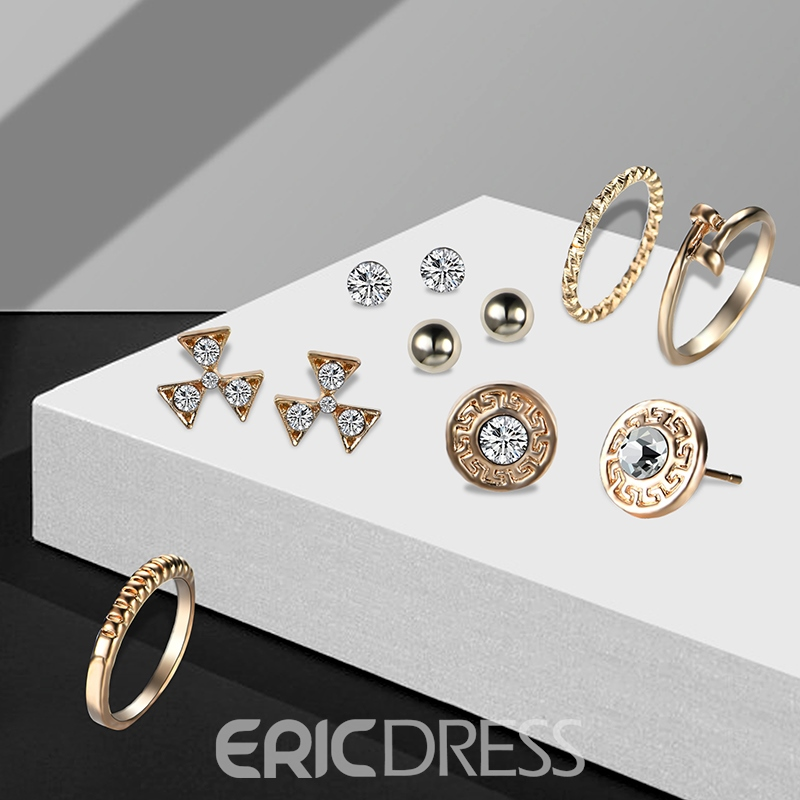 Ericdress Retro Gold Plating Many Pieces Jewelry Set for Women