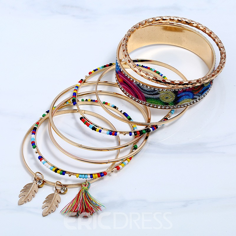 Ericdress Best Seller National Style Alloy Tassel Bracelet for Women